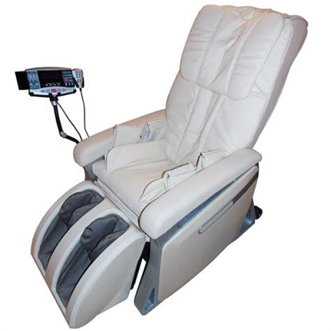 sedia massaggio shiatsu poltrona massaggiante shiatsu riscaldata mp3 beige o