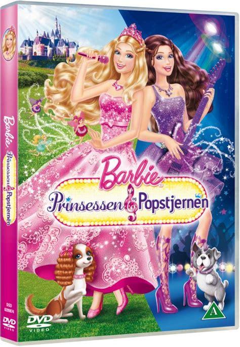 film barbie norsk barbie prinsessen og popstjernen dvd film dvdoo dk
