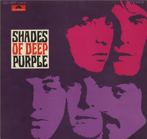 shades of deep purple deep purple shades of deep purple japanese vinyl lp album