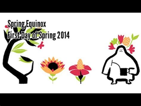 spring equinox google doodle when does the season really spring equinox first day of spring 2014 google doodle