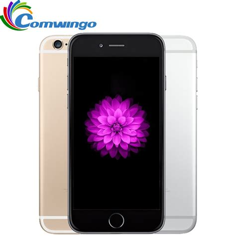 Iphone Ram 1gb original unlocked apple iphone 6 1gb ram 16 64 128gb rom 4 7 inch ios dual 8pm gsm wcdma
