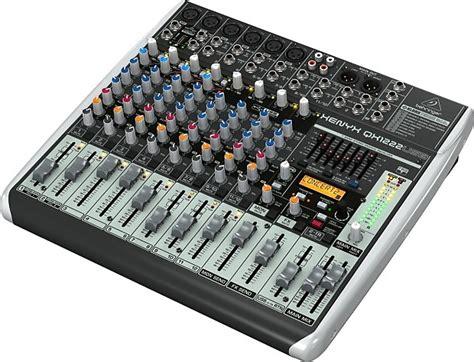 Sale Mixer Behringer Xenyx Qx 1222 Usb 12 Channel behringer qx1222usb xenyx usb mixer 12 channel used reverb