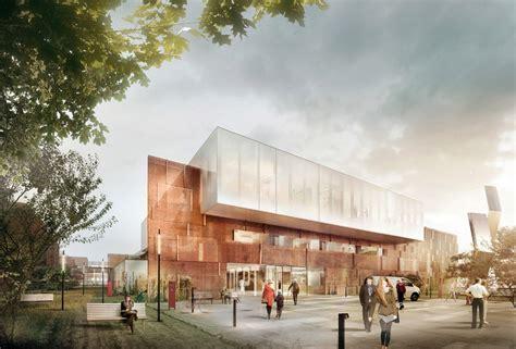 design center denmark aarhus arkitekterne designs revolutionary proton therapy