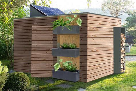 abri jardin design id 233 es design d architecture connect 233 e et autonome en 233 nergie