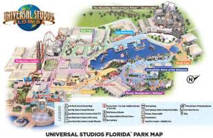 Map Of Universal Orlando by Orlando Insider Vacations Guide To Universal Studios