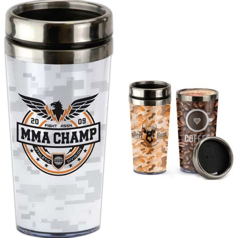 Tumbler Insert Paper Personalized 16 oz tumbler with paper insert item ps205cl imprintitems custom printed promotional