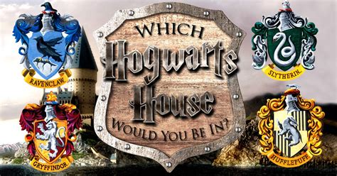 which harry potter house which house are you in harry potter test