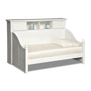 Daybed Value City Seaside White Ii Furniture Bookcase Daybed Value