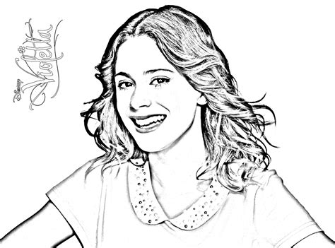 printable coloring pages violetta to print 171 coloring simple violetta 2 187 click on the