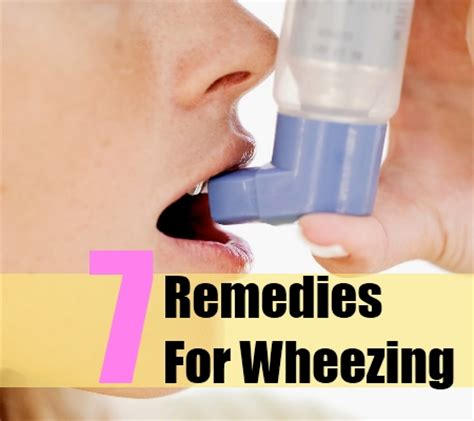 7 wheezing herbal remedies treatments and cures