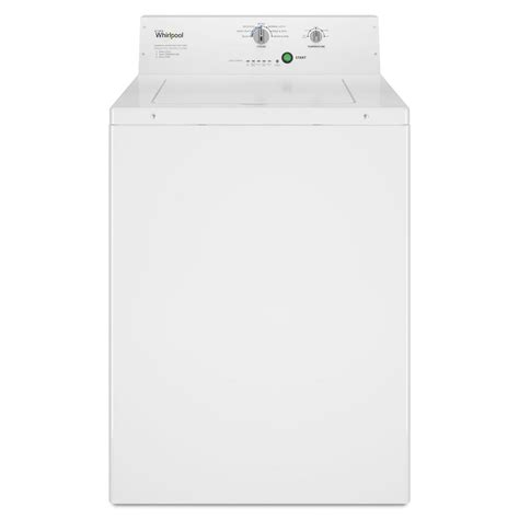 whirlpool 2 9 cu ft commercial top load washer in white
