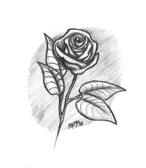 imagenes de rosas faciles dibujos a lapiz arte taringa
