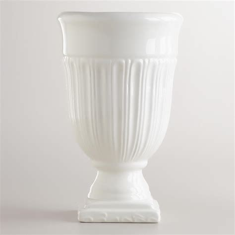 Small White Vase by Small White Urn Vase World Market