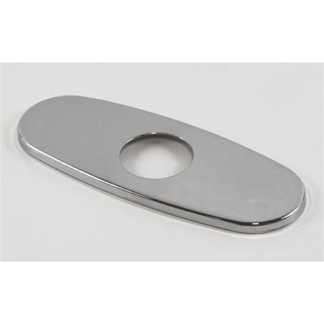 Tub Faucet Cover Plate by Polished Chrome Bathroom Vessel Sink Faucet Cover