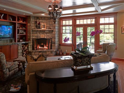 corner stone fireplace family room traditional with none corner stone fireplace family room traditional with none