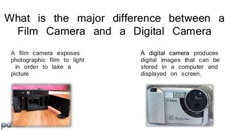 digital camera vs film camera