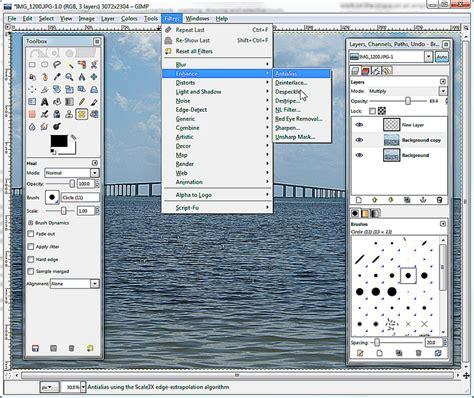 web layout gimp gimp free multi platform image editor review