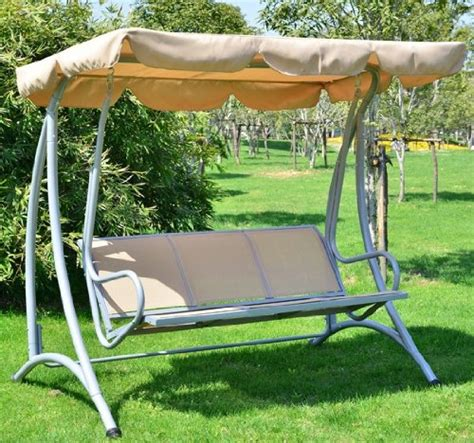 backyard swing bench covered outdoor patio deck swing bench with frame porch