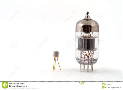 transistor vacuum transistor next to a vacuum royalty free stock image image 17665976