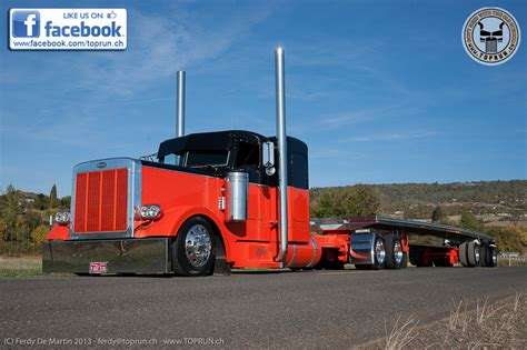 peterbilt semi trucks custom 379 peterbilt show trucks pictures to pin on