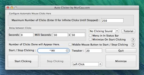 how do you use a clicker to a auto clicker for mac