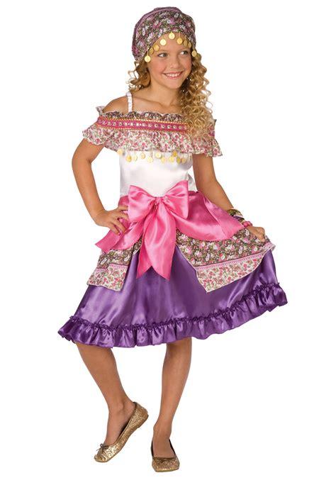 revealing little girl halloween costumes girls gypsy fortune teller costume international