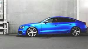 audi a5 sportback blue magic drive2