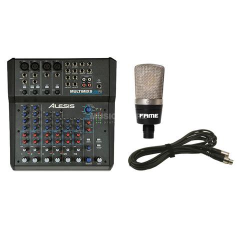 Cable Mic Canare L2t2s Standar Japan Plus Xlr To Akai 3 M alesis multimix 8 usb fx set