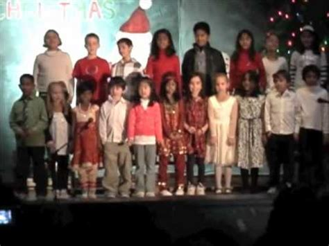 general brock public school christmas carol youtube