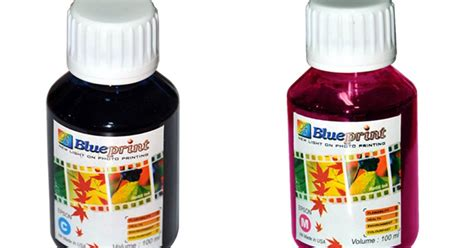 Tinta Buat Ngeprint All About Blueprint Tinta 100ml Blueprint