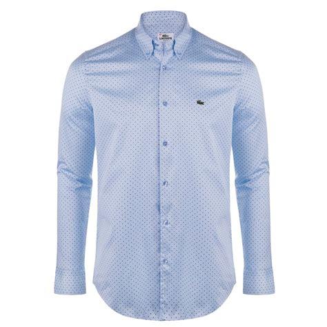 light blue shirt mens lacoste mens shirts the shirt store