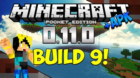minecraft apk 9 0 alpha build 9 minecraft pocket edition 0 11 0 apk