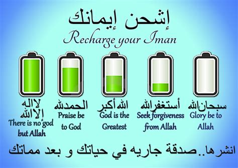 Recharge Your Iman recharge your iman for the sake of allah