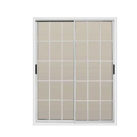 Home Depot Patio Door by Air Master Windows And Doors 72 In X 80 In Aluminum