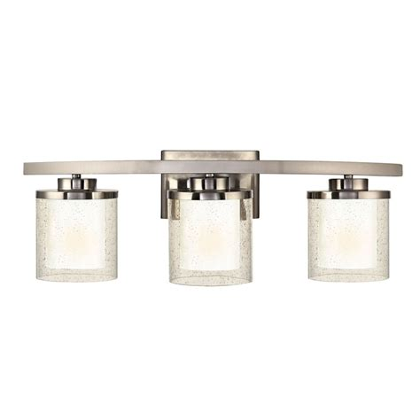 Glass Bathroom Light Seeded Glass Bathroom Light Satin Nickel Dolan Designs 3953 09 Destination Lighting