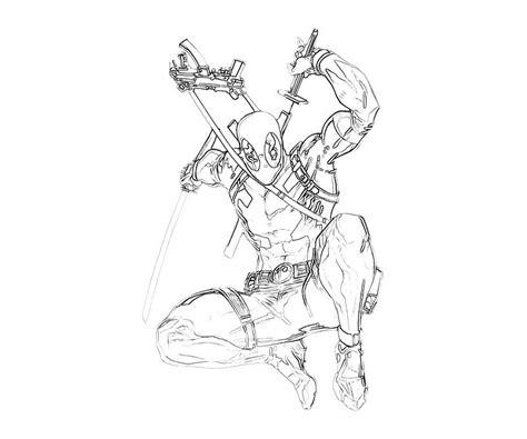 deadpool superhero coloring pages deadpool super hero mario