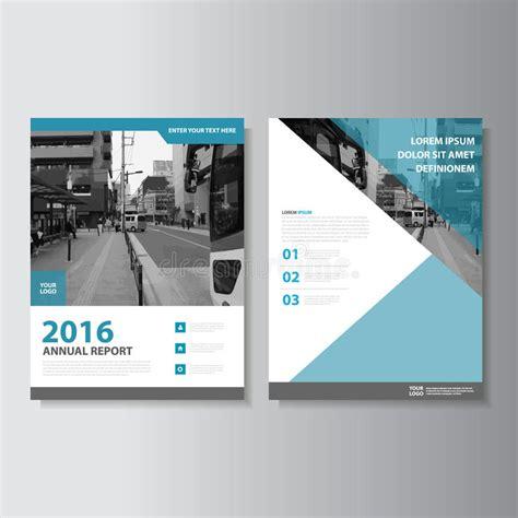 magazine leaflet design blue vector magazine annual report leaflet brochure flyer