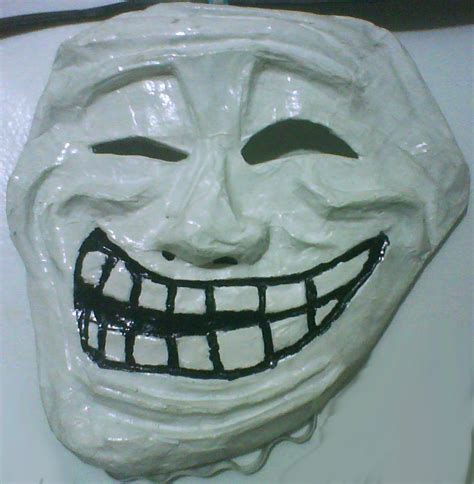 Troll Face Meme Mask - meme masks trollface by psycho stress on deviantart