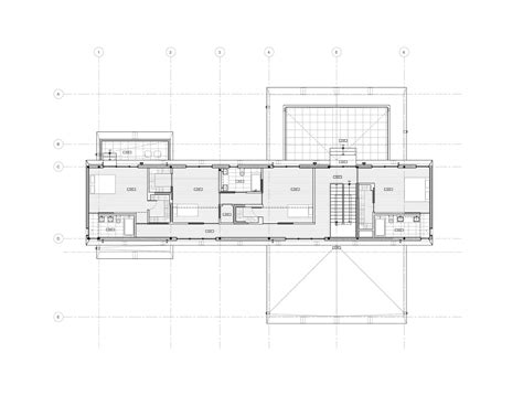 Large House Floor Plans gallery of bridge house h 246 weler yoon architecture 23