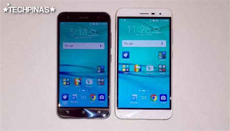Ipaky Asus Zenfone 3 5 5 Inch Ze552kl Aksesoris Handphone asus zenfone 3 5 5 inch ze552kl vs 5 2 inch ze520kl specs comparison side by side actual unit