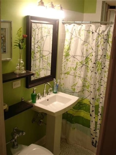 green and brown bathroom decorating ideas 1000 ideas about brown shower curtains on pinterest