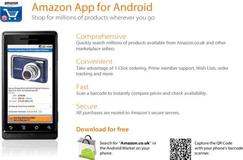 new app for android the unwired shopping uk launches new shopping application for android