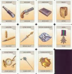 Rooms In Clue Board Game - printable clue board game cards images