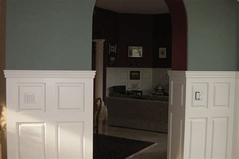 how tall should wainscoting be 60 quot tall double panel wainscoting pictures dining room