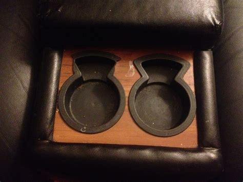 couch with cup holders first diy project useful cup holder for the couch jacob