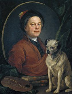 william hogarth pug painter and his pug