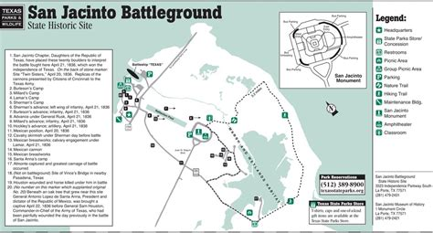 san jacinto texas map san jacinto battleground state historic site maplets