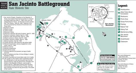 san jacinto texas map san jacinto battleground state historic site maplets