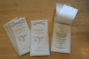 free diy wedding programs templates 301 moved permanently