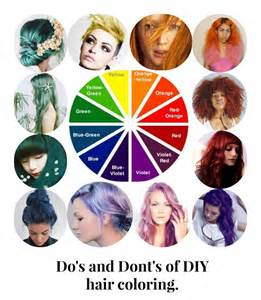 what color hair do you how to hair do s and dont s of diy hair coloring